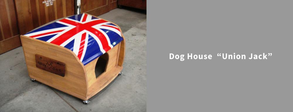 """Dog House""""Union Jack"""""""