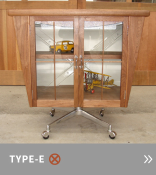 TYPE-E mini foof cabinet series