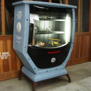 VW-2 vw beetle cabinet