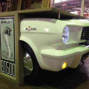 Fordマスタング改造